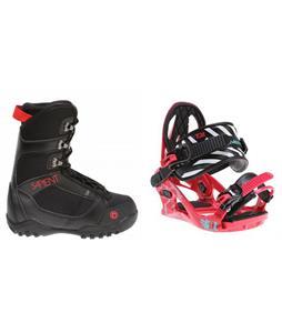 Sapient Prodigy Boots w/ K2 Kat Bindings