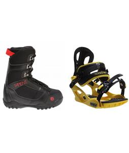 Sapient Prodigy Boots w/ M3 Pivot Rockstar Bindings