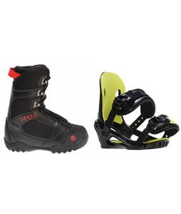 Sapient Prodigy Boots w/ Morrow Axiom Jr Bindings