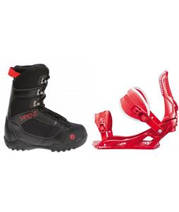 Sapient Prodigy Boots w/ Rossignol Cage Bindings