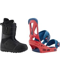 Burton Moto Boots w/ Burton Custom Bindings