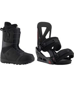 Burton Moto Boots w/ Burton Custom Re:Flex Bindings