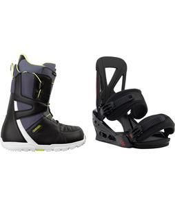 Burton Moto Boots w/ Burton Custom Re:Flex Bindings