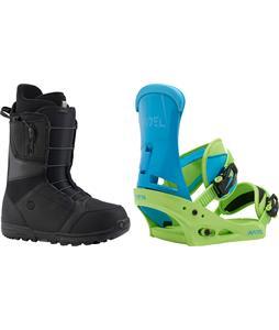 Burton Moto Boots w/ Burton Infidel Bindings