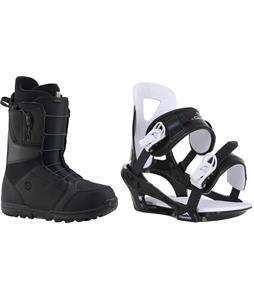 Burton Moto Boots w/ Chamonix Savoy Bindings