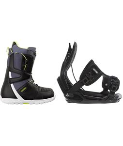Burton Moto Boots w/ Flow Alpha Bindings