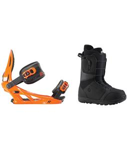 Burton Moto Boots w/ K2 Sonic Bindings