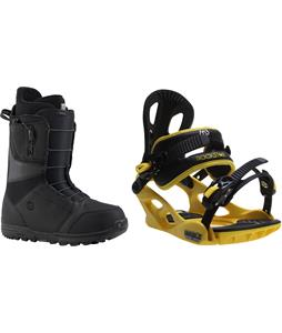 Burton Moto Boots w/ M3 Pivot Rockstar Bindings
