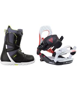 Burton Moto Boots w/ Rossignol Cobra V2 Bindings