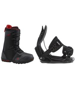 Burton Rampant Boots w/ Flow Alpha Bindings
