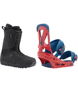 Burton Ruler Boots w/ Burton Custom Bindings