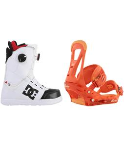 DC Control BOA Boots w/ Burton Freestyle Bindings