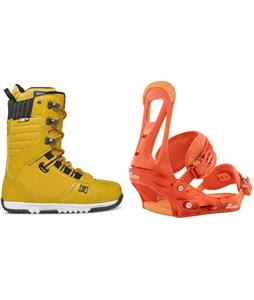 DC Mutiny Boots w/ Burton Freestyle Bindings