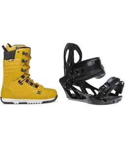 DC Mutiny Boots w/ M3 Pivot Rockstar Bindings