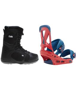Head Scout Pro Boots w/ Burton Custom Bindings