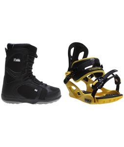 Head Scout Pro Boots w/ M3 Pivot Rockstar Bindings