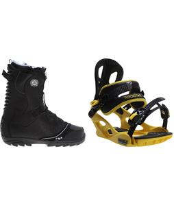 Northwave Freedom Boots w/ M3 Pivot Rockstar Bindings