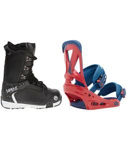 Sapient Yeti Boots w/ Burton Custom Bindings