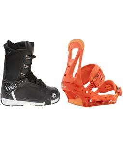 Sapient Yeti Boots w/ Burton Freestyle Bindings