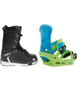 Sapient Yeti Boots w/ Burton Infidel Bindings