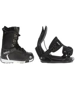 Sapient Yeti Boots w/ Flow Alpha Bindings