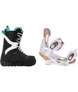 Burton Coco Snowboard Boots w/ Burton Escapade Bindings