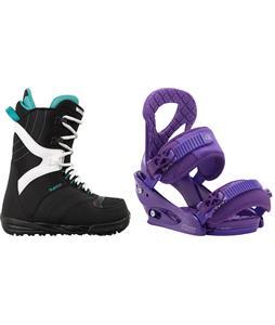 Burton Coco Snowboard Boots w/ Burton Stiletto Bindings