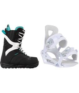 Burton Coco Snowboard Boots w/ Chamonix Brevant Bindings
