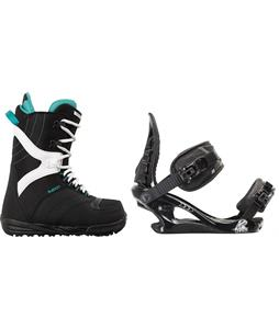 Burton Coco Snowboard Boots w/ K2 Charm Bindings