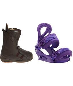 Burton Iroc Snowboard Boots w/ Burton Stiletto Bindings