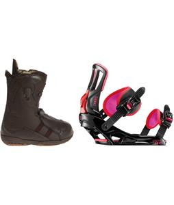 Burton Iroc Snowboard Boots w/ Rossignol Myth Bindings