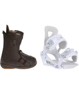 Burton Iroc Snowboard Boots w/ Chamonix Brevant Bindings