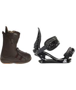 Burton Iroc Snowboard Boots w/ K2 Charm Bindings
