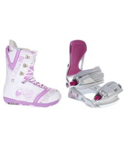 Burton Lodi Snowboard Boots w/ Avalanche Serenity Bindings