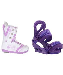 Burton Lodi Snowboard Boots w/ Burton Stiletto Bindings