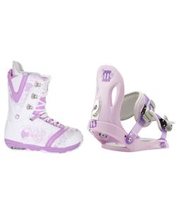 Burton Lodi Snowboard Boots w/ Morrow Slider Bindings