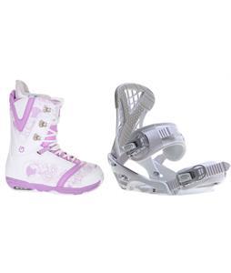 Burton Lodi Snowboard Boots w/ Sapient Zeta Bindings