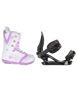 Burton Lodi Snowboard Boots w/ K2 Charm Bindings