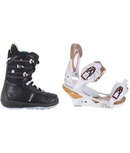 Burton Lodi Snowboard Boots w/ Burton Escapade Bindings