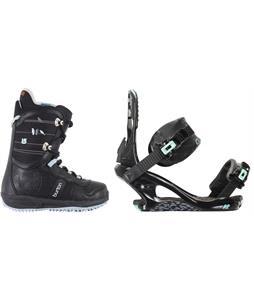 Burton Lodi Snowboard Boots w/ K2 Yeah Yeah Bindings