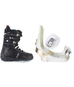 Burton Lodi Snowboard Boots w/ Morrow Lotus Bindings