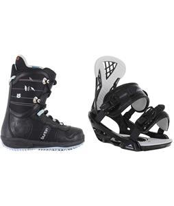 Burton Lodi Snowboard Boots w/ Chamonix Bellevue Bindings