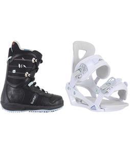 Burton Lodi Snowboard Boots w/ Chamonix Brevant Bindings