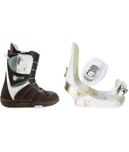 Burton Mint Snowboard Boots w/ Morrow Lotus Bindings