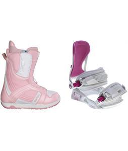 Burton Mint Snowboard Boots w/ Avalanche Serenity Bindings