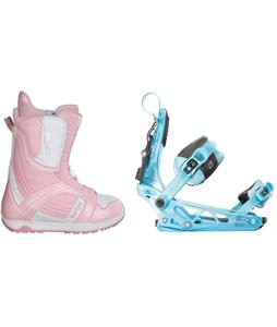 Burton Mint Snowboard Boots w/ K2 Cinch Tryst Bindings