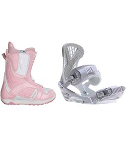 Burton Mint Snowboard Boots w/ Sapient Zeta Bindings