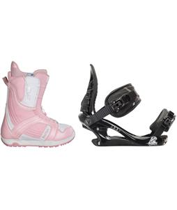 Burton Mint Snowboard Boots w/ K2 Charm Bindings