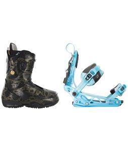 Burton Modern Snowboard Boots w/ K2 Cinch Tryst Bindings