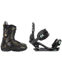 Burton Modern Snowboard Boots w/ K2 Yeah Yeah Bindings